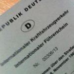 Der internationale Führerschein
